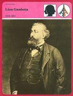 Léon Gambetta, Gouvernement De La Défense Nationale En 1870, Troisième République, Homme Politique, XIXe Sècle - Histoire