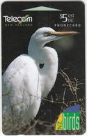 NEW ZEALAND(GPT) - New Zealand Birds/Kotuku, CN : 242B, Tirage 75000, Used - New Zealand