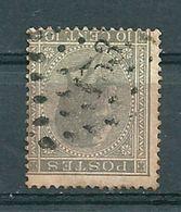 17 Gestempeld PT 153 GOSSELIES-COURCELLES - COBA 3,00 - 1865-1866 Profilo Sinistro
