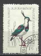 Romania 1959. Scott #C64 (U) Bird, Goldfinch * - Poste Aérienne