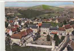 EN AVION AU DESSUS DE ...SAINT GERMAIN DU TEIL     CENTRE DU VILLAGE - Frankrijk