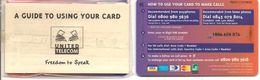 2-CARTES+PREPAYEES-GB-5£/10£-UNITED TELECOM-La 5£ Est NSB-- TBE- - Royaume-Uni