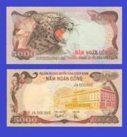 Vietnam South  5000 Dong 1975 - Copy - Copy- Replica - REPRODUCTIONS - Vietnam
