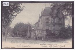 LAUSANNE - AVENUE DE LA GARE - HOTEL JURA, PENSION SIMPLON - TB - VD Vaud