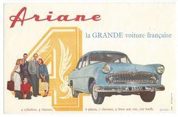 B3 - Buvard Ariane La Grande Voiture Française - Automobile