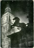LONDON  Big Ben  Equestrian Statue  Horse - Cavalli