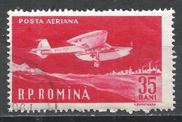 Romania 1960. Scott #C81 (U) Amphibian Ambulance Plane * - Poste Aérienne