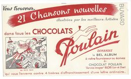 B11 - Buvard Chocolats Poulain Blois Ma Petite Folie - Chocolat