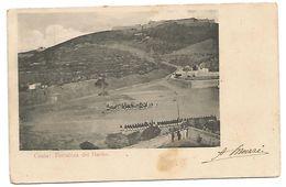 OLD POST CARD OF CEUTA - FORTALEZA DEL HACHO , - Ceuta