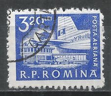 Romania 1960. Scott #C86 (U) Bucharest Airport * - Poste Aérienne