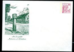 Bund PU112 B2/007 Privat-Umschlag MEILENSTEIN POSTHALTEREI  LANGENFELD 1978 - Post
