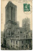 CPA - Carte Postale - France - Caen - Eglise Saint Jean - Vue De La Tour Penchée (CP1052) - Caen