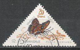 Romania 1960. Scott #C90 (U) Limenitis Populi, Butterfly - Poste Aérienne