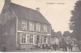 Maldegem, Maldeghem, Stroobrug, Café Au Pavillon Royal, G Vermeulen Veulensnijder (pk43562) - Maldegem