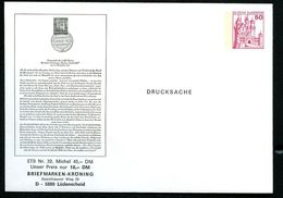 Bund PU112 B2/010 Privat-Umschlag ERSTTAGSBLATT Nr. 32 Lüdenscheid 1978 - Private Covers - Mint