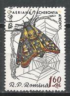 Romania 1960. Scott #C93 (U) Acherontia Atropos, Butterfly * - Poste Aérienne