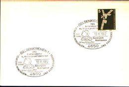 88598) Germania Fdc- Con 5 D.ordinaria.-con Bollo Speciale Esposizione Di Minerali E Fossili  A GELSENKIRCHEN- 13/1/1982 - Minerali