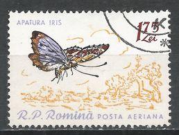 Romania 1960. Scott #C94 (U) Apatura Iris, Butterfly * - Poste Aérienne