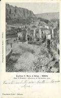 MODICA QUARTIERE S MARIA DI BETLEM DISASTRO ALLUVIONE 1902 - Modica