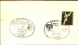 88603) Germania Fdc- Con 5 D.ordinaria.-con Bollo Speciale Esposizione Di Minerali E Fossili  A DREIEICH- 18/10/1978 - Minerali
