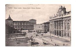 ITALIE . TORINO . PIAZZA CASTELLO . PALAZZO REALE E PALZZO MADAMA - Réf. N°7615 - - Palazzo Reale