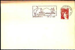 88597) Francia-fdc-con 10c.p.marianna..-bollo Speciale Esposizione Di Minerali E Fossili -argentiere -13/4/-1981 - Minerali