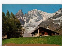 U2488 Cartolina COURMAYEUR (AOSTA) ENTREVES _ CIRCOLATA 1982 - Altre Città