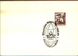88604) Austria Fdc- Con 20pf.castelli..-con Bollo Speciale Esposizione Di Minerali E Fossili-st.deitaeisenerz -4/8/1971 - Minerali
