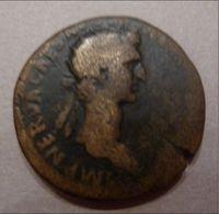. Nerva (96-98) - Fortuna Nach Links Gewandt Stehend Mit Steuer Und Füllhorn (Dupondius) - RIC 84 - Rom Ca. 97 - 3. Die Antoninische Dynastie (96 / 192)