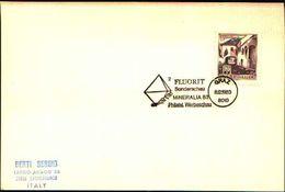 88606) Austria Fdc- Con 20pf.castelli..-con Bollo Speciale Esposizione Di Minerali E Fossili-werbeschau -8/12/1983 - Minerali