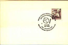 88607) Austria Fdc- Con 20pf.castelli..-con Bollo Speciale Esposizione Di Minerali E Fossili-vienna -8/10/1983 - Minerali
