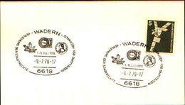 88609) Germania Fdc- Con 5 D.ordinaria.-con Bollo Speciale Esposizione Di Minerali E Fossili  A Wadern- 9/2/1978 - Minerali