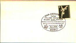 88610) Germania Fdc- Con 5 D.ordinaria.-con Bollo Speciale Esposizione Di Minerali E Fossili  A Idar Obertsten- 3/4/1978 - Minerali