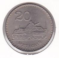 Mozambique - 20 Meticais 1980 Tank - UNC - Mozambique