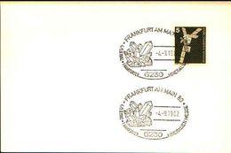 88612) Germania Fdc- Con 5 D.ordinaria.-con Bollo Speciale Esposizione Di Minerali E Fossili  A Frankfurt- 4/9/1982 - Minerali
