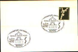 88615) Germania Fdc- Con 5 D.ordinaria.-con Bollo Speciale Esposizione Di Minerali E Fossili  A Frankfurt- 14/4/1980 - Minerali