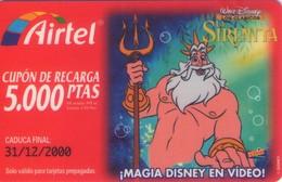 TARJETA TELEFONICA DE ESPAÑA, PREFIJO 907 (PREPAGO) 206. DISNEY. - Disney