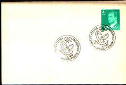 88613) Spagna Fdc- Con 4 P.-con Bollo Speciale Esposizione Di Minerali E Fossili A Madrid -1982 - Minerali