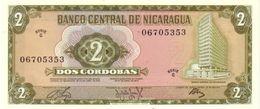 NICARAGUA 2 CÓRDOBAS 1972 P-121a UNC  [NI415a] - Nicaragua