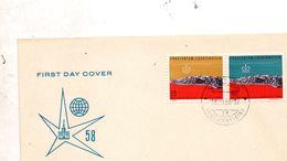 1958   LETTERA - FDC