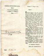 1824 PALERMO - CONSIGLIO GENERALE DEGLI OSPIZI - Decreti & Leggi
