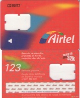 TARJETA TELEFONICA DE ESPAÑA, (SIM) 232. - Airtel
