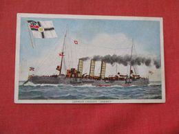 German Cruiser  Bremen -ref 2863 - Warships