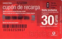 TARJETA TELEFONICA DE ESPAÑA, (PREPAGO) 229. - Airtel