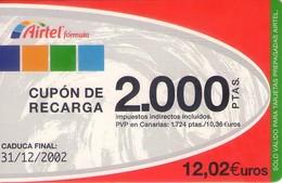 TARJETA TELEFONICA DE ESPAÑA, (PREPAGO) 226. - Spanje