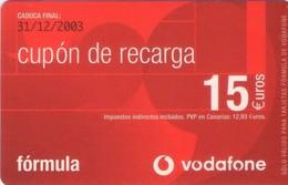 TARJETA TELEFONICA DE ESPAÑA, (PREPAGO) 228. - Airtel