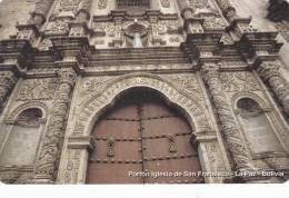 BOLIVIA(Urmet) - San Fransisco Church, Mint - Bolivia
