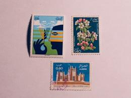 ALGÉRIE   1977-81    LOT# 13  FLOWER - Algérie (1962-...)