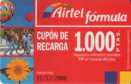TARJETA TELEFONICA DE ESPAÑA, (PREPAGO) 217. - Espagne
