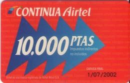 TARJETA TELEFONICA DE ESPAÑA, (PREPAGO) 224. - Spanje